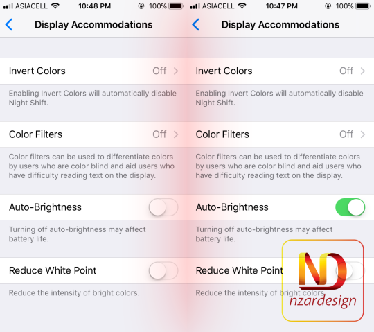 Disable or Enable Auto-Brightness in iOS 11 for iPhone & iPad